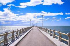 Beautiful pier Royalty Free Stock Images