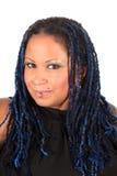 Beautiful pierced woman Royalty Free Stock Photography