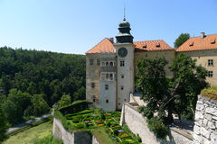 Beautiful Pieskowa Skala castle Stock Images