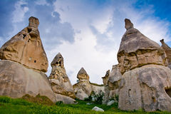 Beautiful Pigeon Valley in Cappadocia, Anatolia, Turkey Royalty Free Stock Image