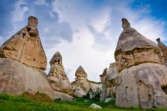Beautiful Pigeon Valley in Cappadocia, Anatolia, Turkey Royalty Free Stock Image