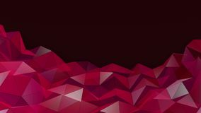 Beautiful Pink Abstract Motion Background, Seamless Looping stock video footage