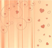 Beautiful pink background. Vectors illustration Royalty Free Illustration
