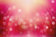 Beautiful pink bokeh royalty free illustration