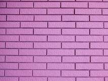 Beautiful pink bricks Royalty Free Stock Image