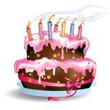 Beautiful pink cake Royalty Free Stock Photo
