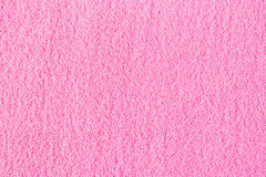 Beautiful pink decorative sand scattered on the table. Royalty Free Stock  Images