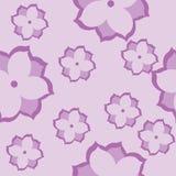 Beautiful Pink Flowers. Seamless texture Stock Photos