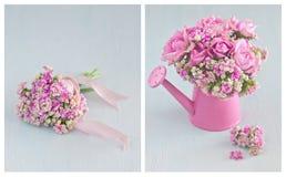Beautiful pink  flowers . Royalty Free Stock Photo