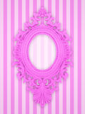 Beautiful pink frame Stock Images