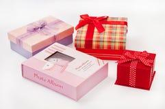 Beautiful pink kids photo album Royalty Free Stock Image