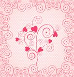 Beautiful pink lace Royalty Free Stock Photos