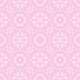 Beautiful pink ornamental background. Vector Stock Photo