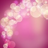 Beautiful pink and white  background Stock Images