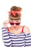 Beautiful pinup woman Royalty Free Stock Photography