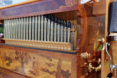 Beautiful pipe organ Royalty Free Stock Photos
