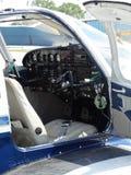 Beautiful Piper Pa32 Cherokee six ready for flight. Stock Photo