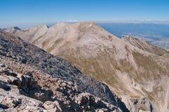 Beautiful Pirin Mountain Peaks Royalty Free Stock Images
