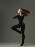 Beautiful pirouette Stock Photos