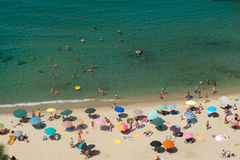 The beautiful pizzo calabro beach  in Calabria Royalty Free Stock Photos