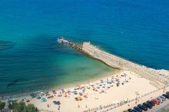 The beautiful pizzo calabro beach  in Calabria Stock Image