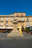 The beautiful pizzo Calabro town in Calabria Royalty Free Stock Photos