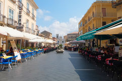 The beautiful pizzo Calabro town in Calabria Royalty Free Stock Images