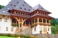 Beautiful place in barsana monastery Royalty Free Stock Photo