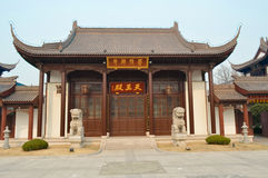 Beautiful place Chinese local temple. Beautiful place Chinese local buddhism temple Royalty Free Stock Images