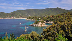 Beautiful Place on Elba Island Royalty Free Stock Photo