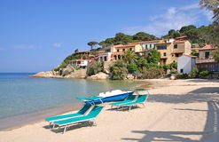 Beautiful Place on Elba Island Stock Photography