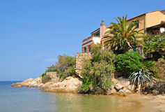 Beautiful Place on Elba Island Stock Images