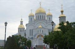 Beautiful place on the globe. A beautiful sight in Diveevo, it is South of Nizhny Novgorod Beautiful place on the globe Stock Images