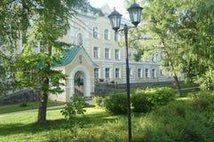 Beautiful place on the globe. A beautiful sight in Diveevo, it is South of Nizhny Novgorod Beautiful place on the globe Stock Photos