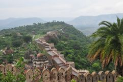 Kumbhalgarh Royalty Free Stock Photo