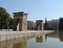 A beautiful place - Madrid, Spain Stock Photography