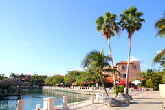 Beautiful place in  Mexico Mayan Riviera Royalty Free Stock Images