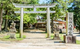Beautiful place in Nara surrounded by nature, Japan stock photos