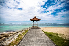 Beautiful place for praying on beach Stock Photos
