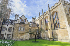Beautiful places around the famous Cambridge University Royalty Free Stock Photo