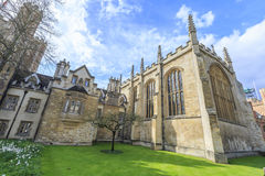 Beautiful places around the famous Cambridge University Royalty Free Stock Image