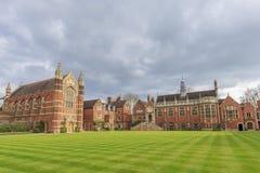 Beautiful places around the famous Cambridge University Royalty Free Stock Image