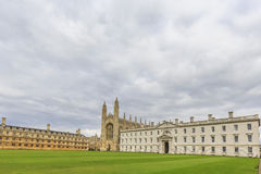 Beautiful places around the famous King's College at Cambridge U Stock Photography