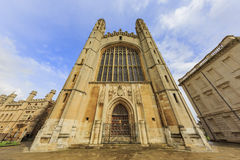 Beautiful places around the famous King's College at Cambridge University Stock Photo