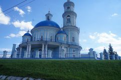 Beautiful places on earth, the Baikal. Beautiful places of the globe, Baikal historical sights of the Baikal region, Church, Christianity Royalty Free Stock Image