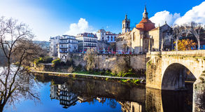 Beautiful places in Portugal - Amarante Royalty Free Stock Photos