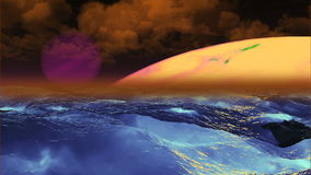 Beautiful Planet, Abstract Background stock footage