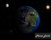Beautiful Planet Earth Royalty Free Stock Photo