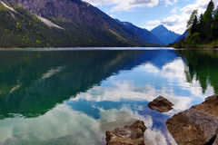The beautiful Plansee in Austria Royalty Free Stock Image