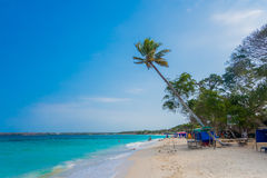 Beautiful Playa Blanca or White beach close to Stock Photos